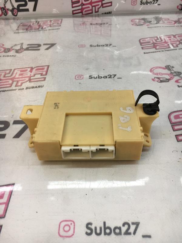 Блок управления печкой Subaru Legacy BL5 EJ20X 2003 (б/у)