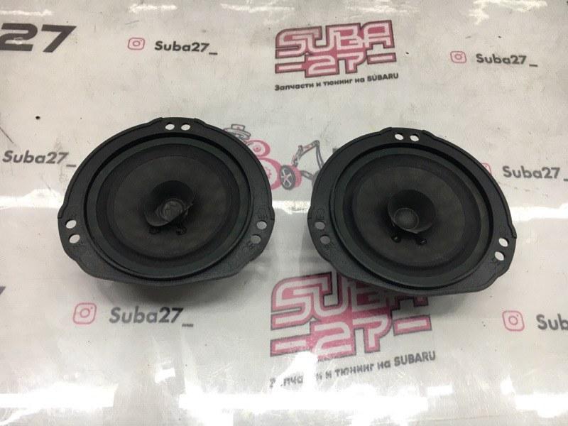 Мультимедиа акустика Subaru Impreza GDA EJ205 2002 передняя (б/у)