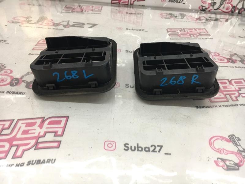 Воздуховод Subaru Impreza GDA EJ205 2002 задний (б/у)