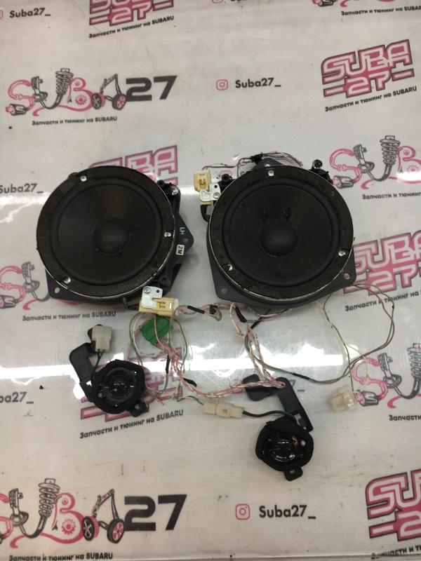 Мультимедиа акустика Subaru Outback BP9 EJ253 2006 передняя (б/у)