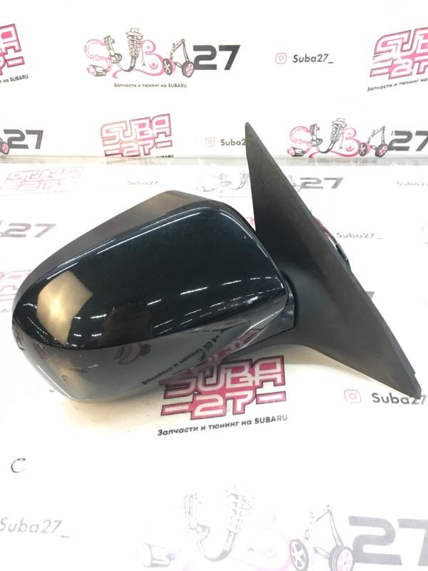 Зеркало заднего вида боковое Subaru Forester SH5 EJ205 2008 правое (б/у)