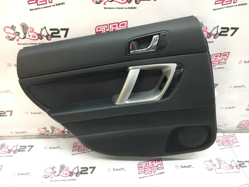 Обшивка двери Subaru Outback BP9 EJ253 2008 задняя левая (б/у)