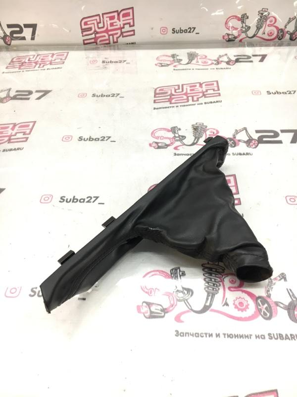 Чехол ручника Subaru Legacy BP9 EJ253 2009 (б/у)