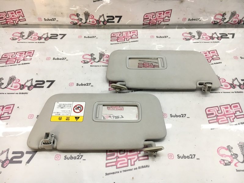 Солнцезащитные козырьки Subaru Forester SH5 EJ205 2010 (б/у)