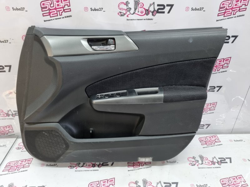 Обшивка двери Subaru Forester SH5 EJ205 2010 передняя правая (б/у)
