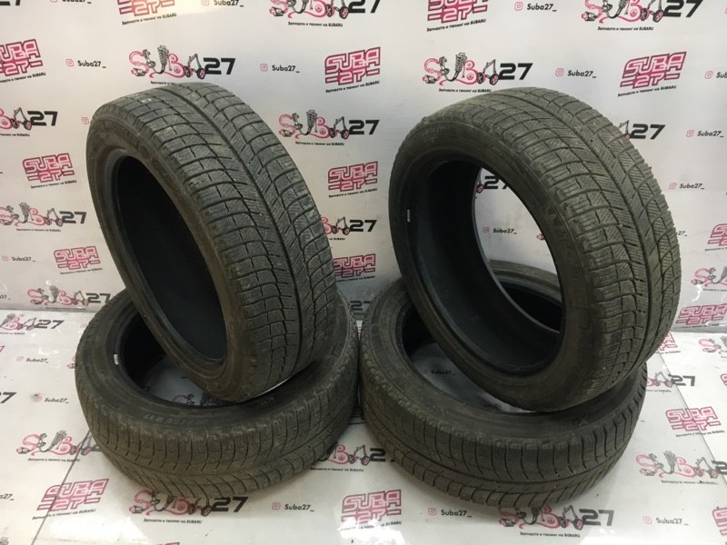 Комплект из 4-х шин R17 / 205 / 50 Michelin X-ICE (б/у)