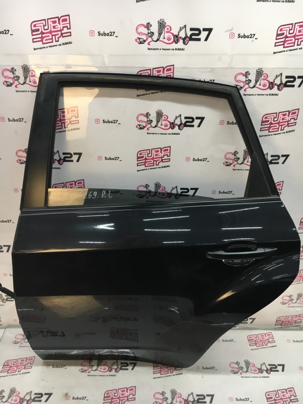 Дверь Subaru Impreza Wrx Sti GRB EJ207 2008 задняя левая (б/у)