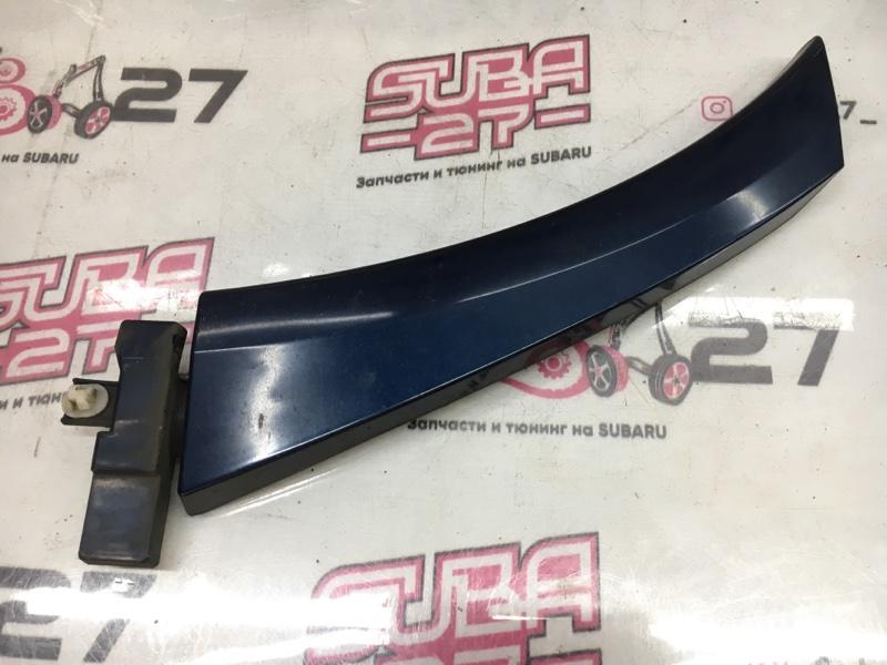 Накладка на крыло Subaru Legacy BP5 EJ20X 2003 задняя правая (б/у)