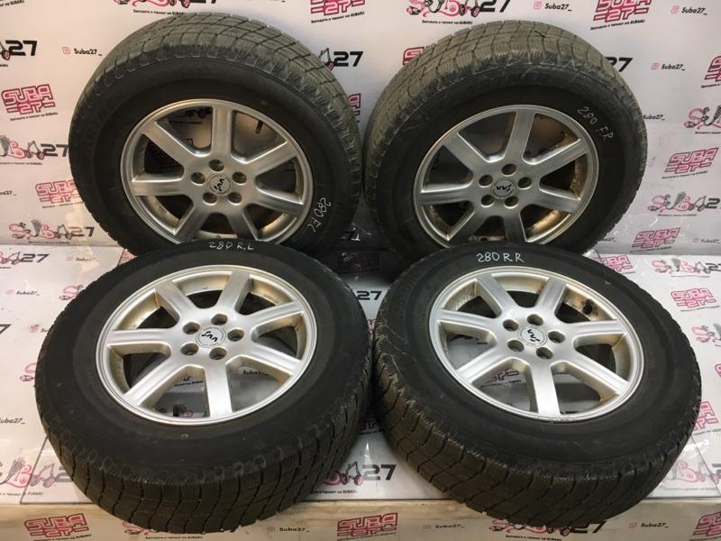 Комплект из 4-х колёс R16 / 215 / 65 Bridgestone Ice Partner 5x100 лит. 48ET  (б/у)