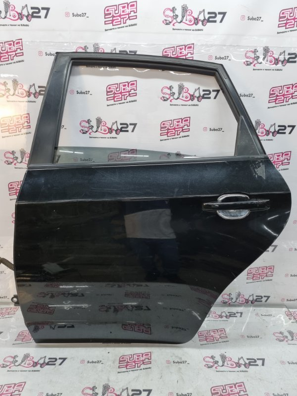 Дверь Subaru Impreza GH2 EL15 2011 задняя левая (б/у)