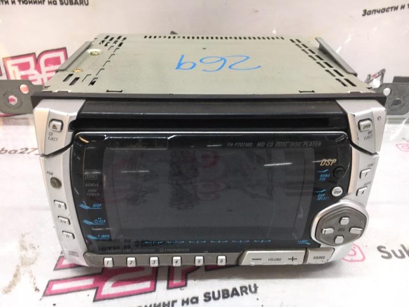 Мультимедиа магнитола Subaru Impreza Wrx Sti GRB EJ207 2008 (б/у)
