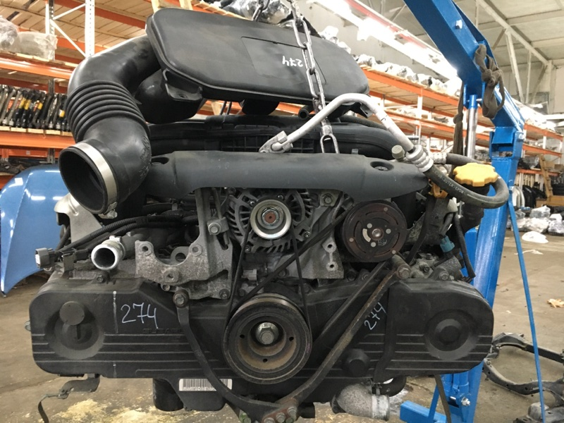 Двигатель Subaru Legacy BR9 EJ253 2010 (б/у)