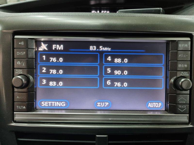 Мультимедиа магнитола Subaru Impreza GH8 EJ20X 2008 (б/у)