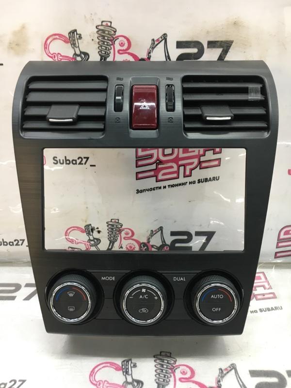 Рамка магнитолы Subaru Forester SJG FA20 2013 (б/у)