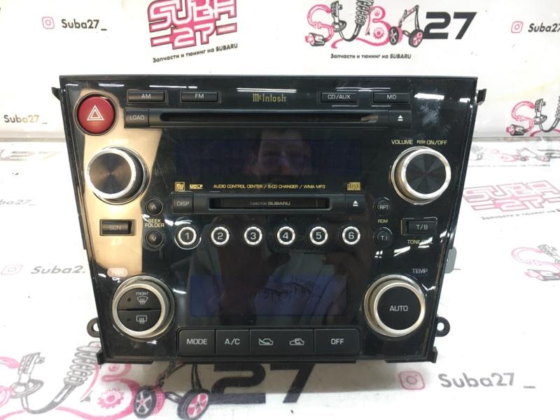 Мультимедиа магнитола Subaru Outback BP9 EJ253 2006 (б/у)