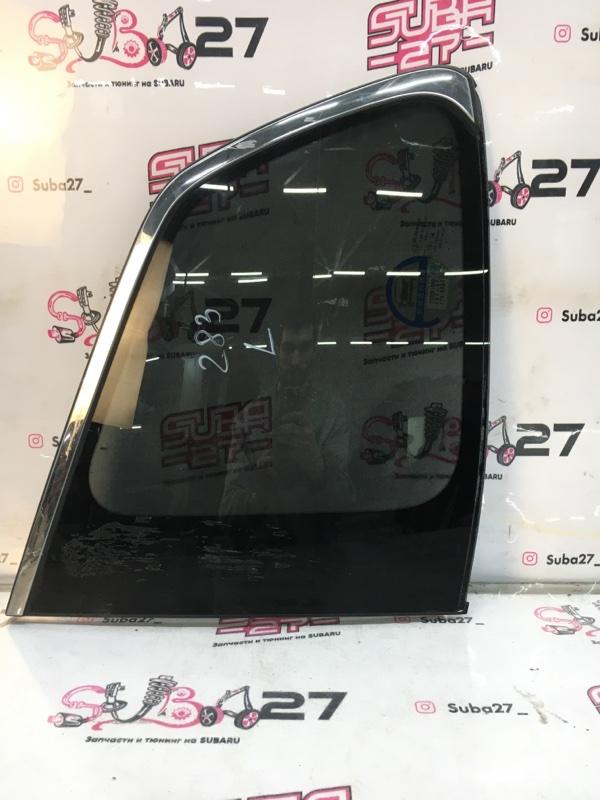 Стекло собачника Subaru Forester SJG FA20 2013 левое (б/у)