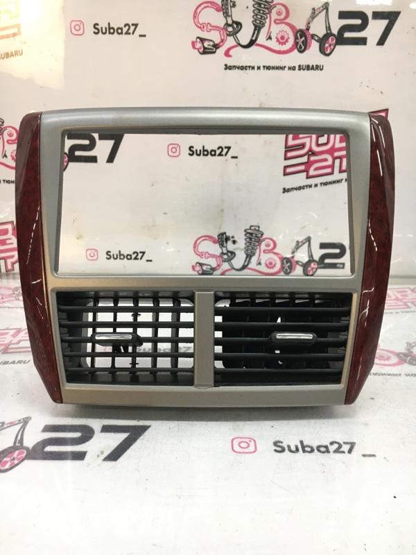 Рамка магнитолы Subaru Forester SH5 EJ204 2008 (б/у)