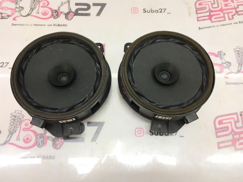 Мультимедиа акустика Subaru Forester SJG FA20 2013 задняя (б/у)
