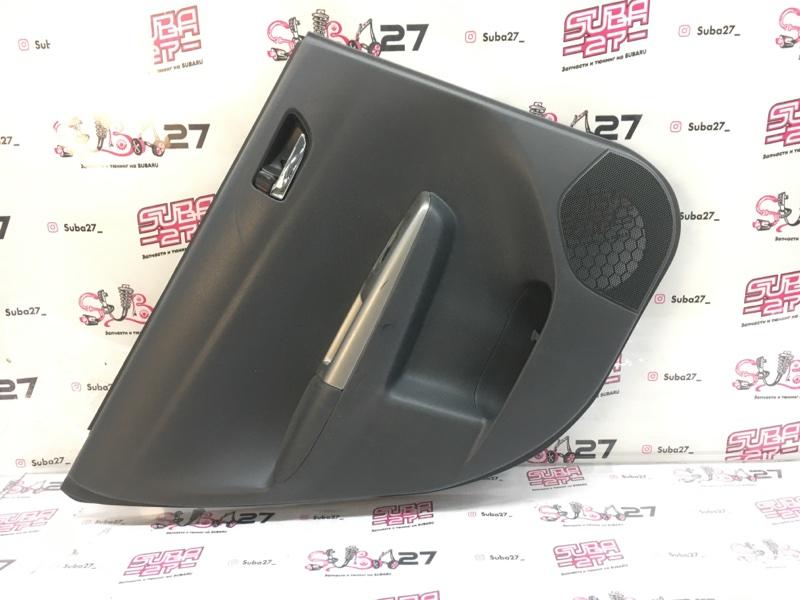 Обшивка двери Subaru Impreza GH8 EJ20X 2008 задняя правая (б/у)