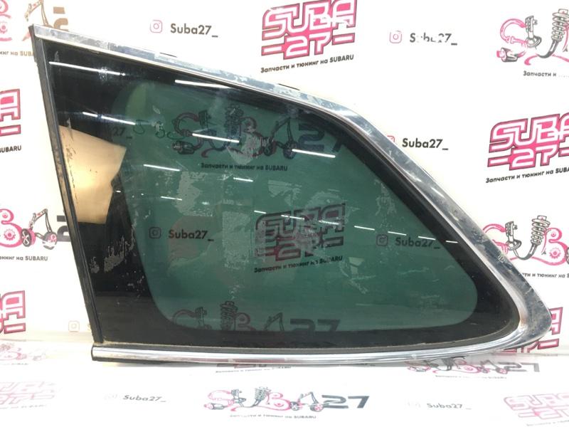 Стекло собачника Subaru Legacy BR9 EJ255 2012 левое (б/у)