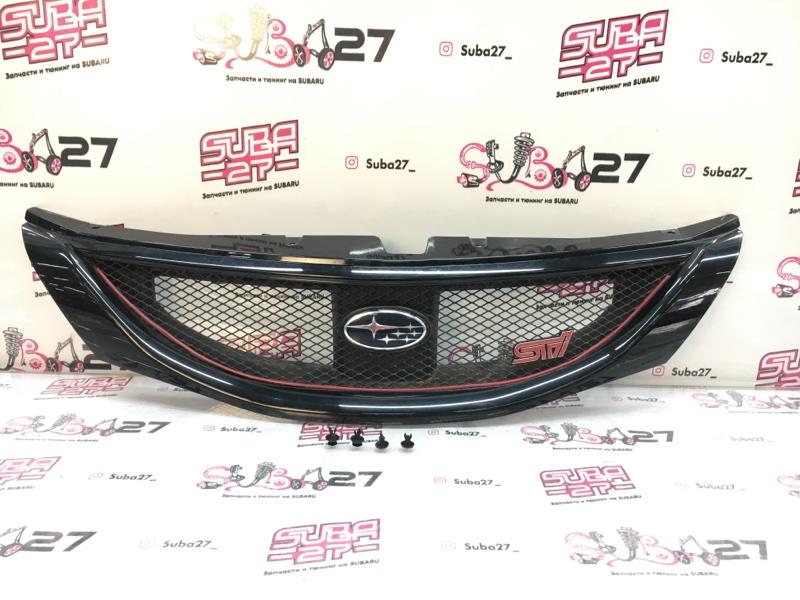Решетка радиатора Subaru Impreza Wrx Sti GRF EJ257 2009 (б/у)