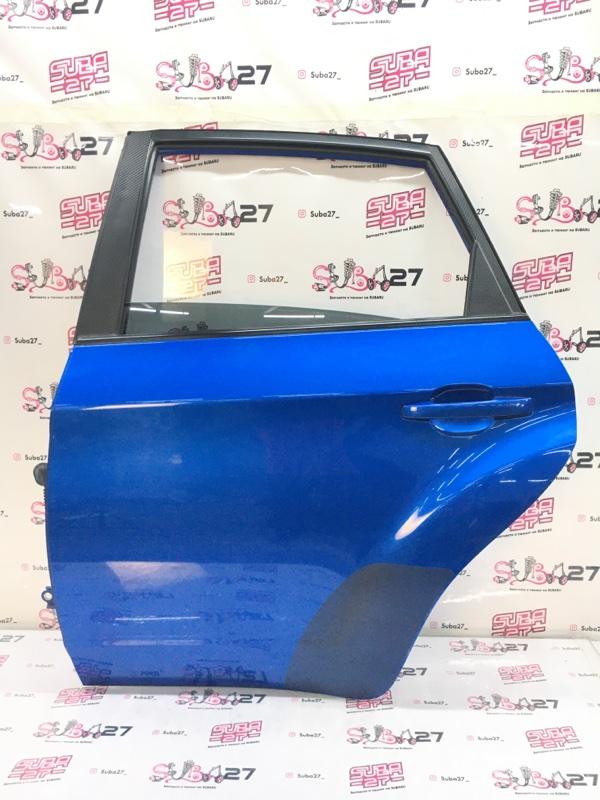 Дверь Subaru Impreza Wrx Sti GRF EJ257 2009 задняя левая (б/у)