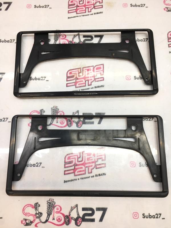 Рамка для номера Subaru Forester SH5 EJ205 2008 (б/у)