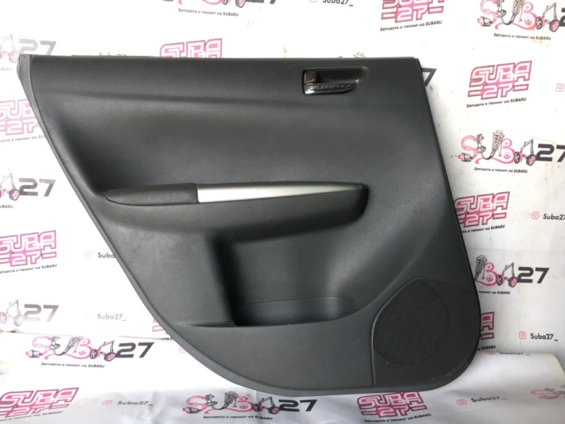 Обшивка двери Subaru Impreza GH8 EJ20X 2008 задняя левая (б/у)