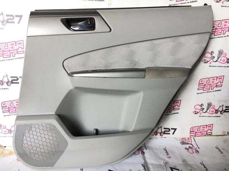 Обшивка двери Subaru Forester SH5 EJ205 2008 задняя правая (б/у)