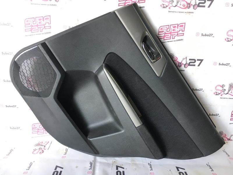 Обшивка двери Subaru Forester SH5 2008 задняя правая (б/у)