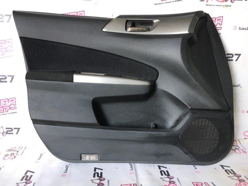 Обшивка двери Subaru Forester SH5 EJ205 2008 передняя левая (б/у)