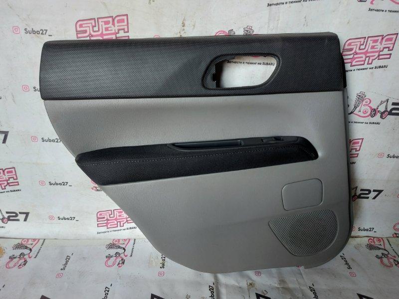 Обшивка двери Subaru Forester SG5 EJ205 2007 задняя левая (б/у)