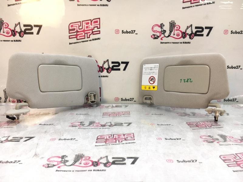 Солнцезащитные козырьки Subaru Legacy BR9 EJ255 2012 переднее (б/у)