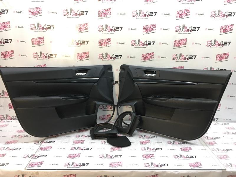 Обшивка двери Subaru Legacy BR9 EJ255 2012 передняя (б/у)