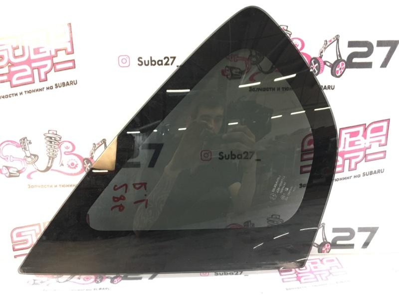 Стекло собачника Subaru Impreza GRB EJ207 2013 заднее левое (б/у)