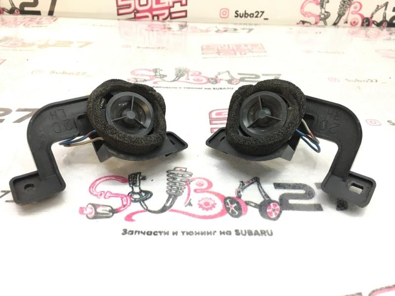 Мультимедиа акустика Subaru Outback BP9 EJ253 2008 передняя (б/у)