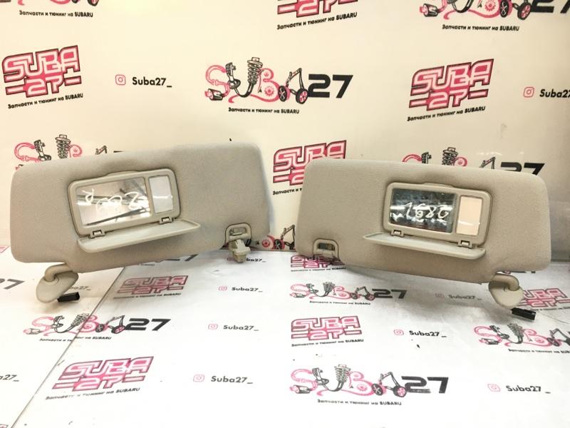 Солнцезащитные козырьки Subaru Legacy BP5 EJ20X 2007 (б/у)