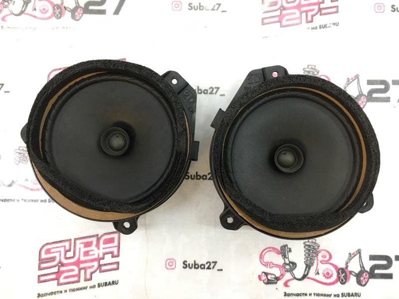 Мультимедиа акустика Subaru Legacy BL5 EJ20X 2006 передняя (б/у)