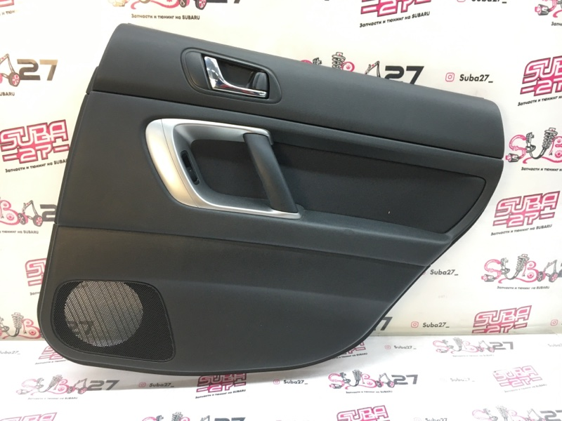 Обшивка двери Subaru Legacy BL5 EJ20X 2006 задняя правая (б/у)