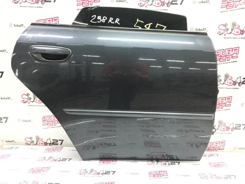 Дверь Subaru Legacy BL9 EJ253 2007 задняя правая (б/у)
