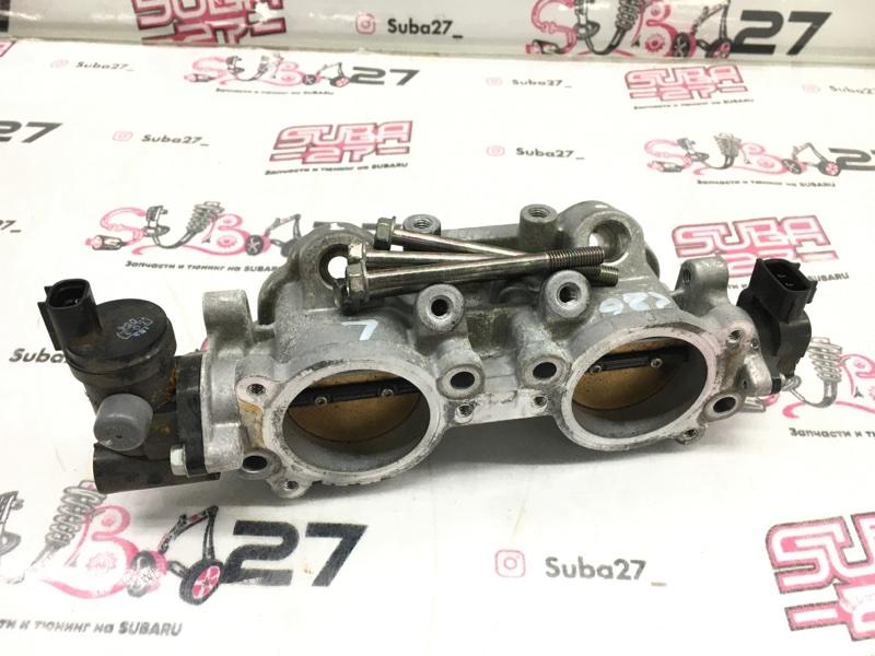 Блок дроссельной заслонки Subaru Impreza GRB EJ207 2013 (б/у)