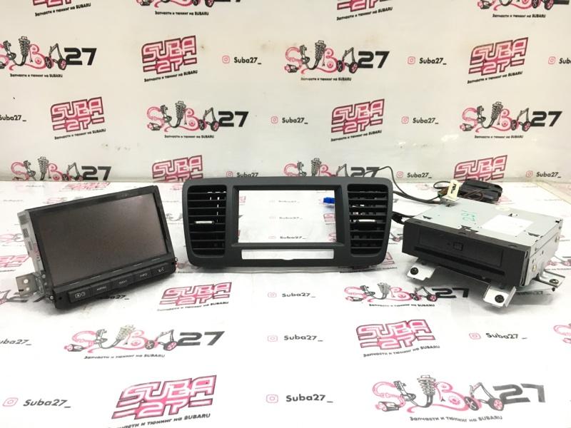 Мультимедиа магнитола Subaru Legacy BP5 EJ20X 2003 (б/у)