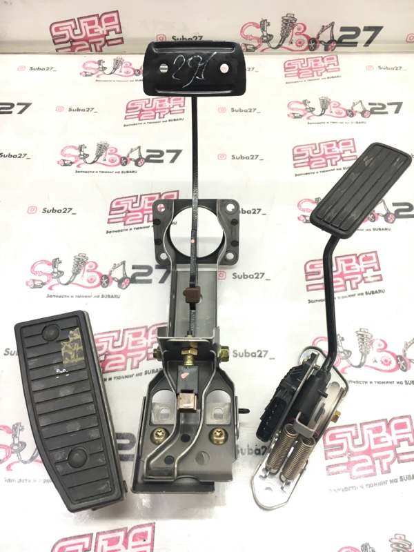 Педальный узел Subaru Legacy BP5 EJ20X 2003 (б/у)