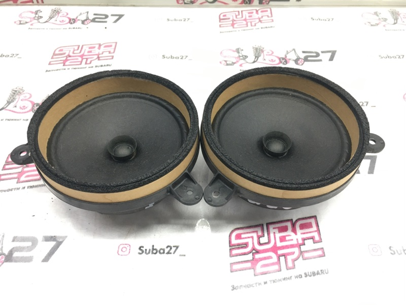 Мультимедиа акустика Subaru Legacy BL9 EJ253 2007 задняя (б/у)