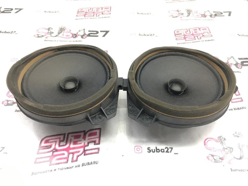 Мультимедиа акустика Subaru Legacy BL9 EJ253 2007 передняя (б/у)