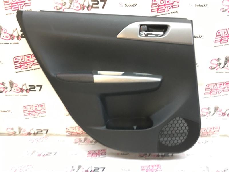 Обшивка двери Subaru Impreza GRB EJ207 2013 задняя левая (б/у)