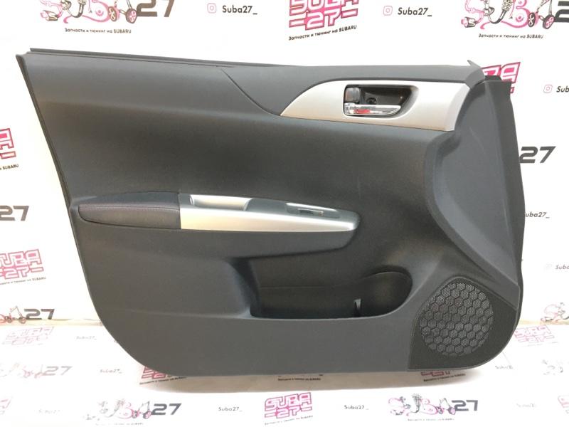 Обшивка двери Subaru Impreza GRB EJ207 2013 передняя левая (б/у)