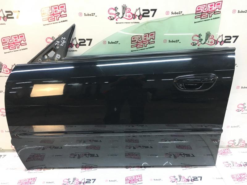 Дверь Subaru Legacy BP5 EJ20X 2008 передняя левая (б/у)