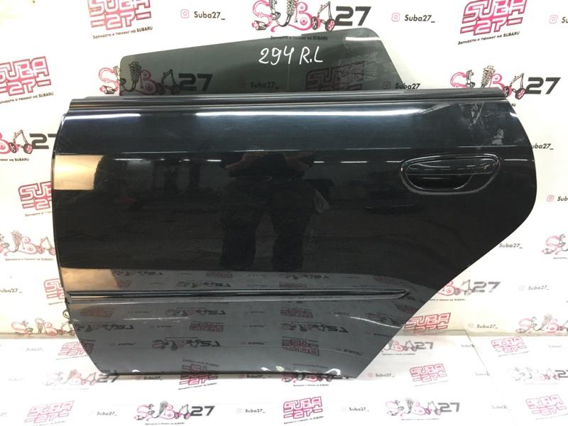 Дверь Subaru Legacy BP5 EJ20X 2008 задняя левая (б/у)