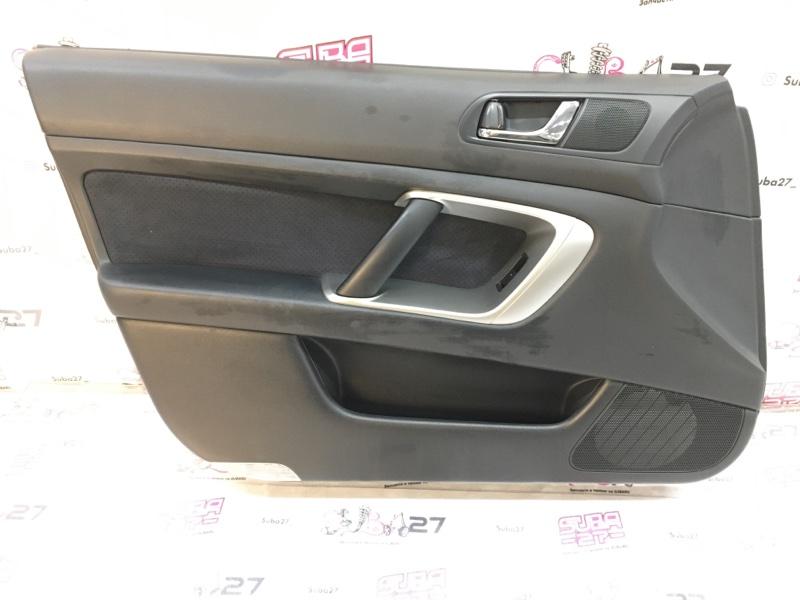 Обшивка двери Subaru Legacy BP5 EJ20X 2008 передняя левая (б/у)